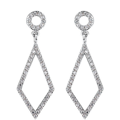 Open Crystal Chandelier Earrings, ${color}