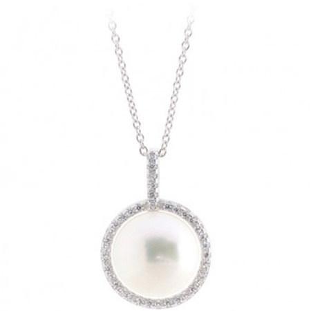 Pearl Drop Pendant, ${color}