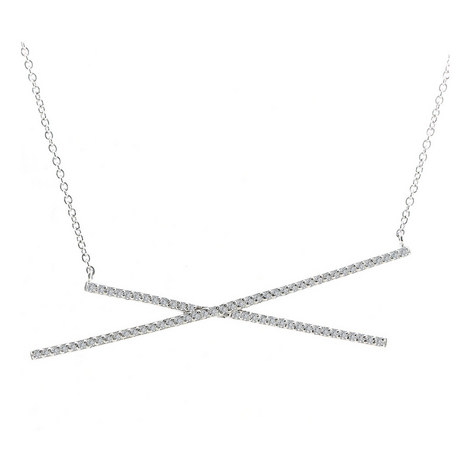 Criss Cross Necklace, ${color}