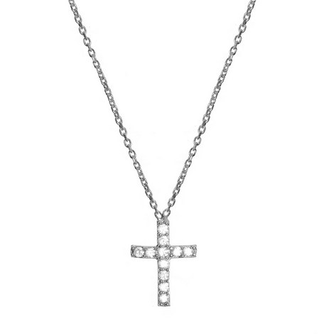Little Cross Necklace, ${color}
