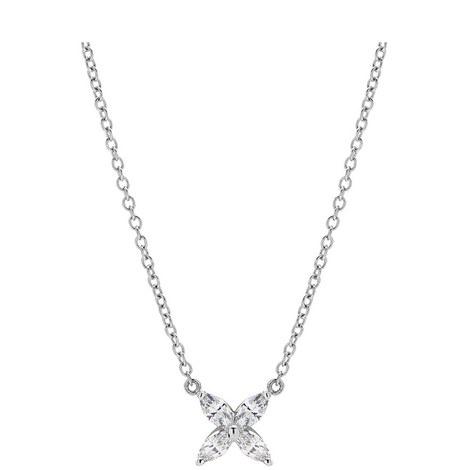 Flower Pendant Necklace, ${color}