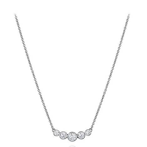 Bezel Setting Necklace, ${color}