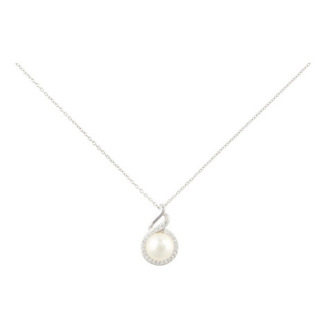 Belinda Pearl Pendant Necklace, ${color}