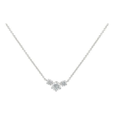 Three Stone Necklace Medium, ${color}