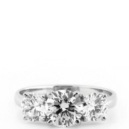 Medium Trilogy Ring, ${color}