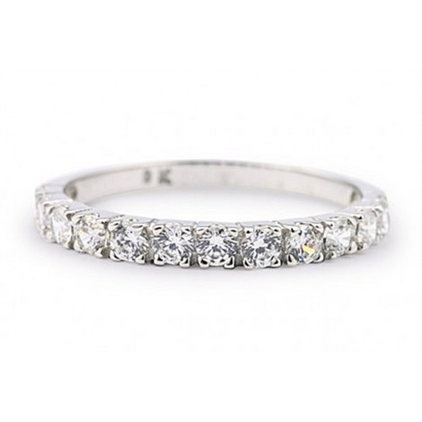 Petite Eternity Ring Silver, ${color}