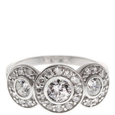 Deco Triology Ring, ${color}