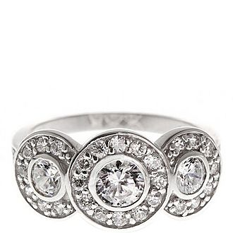 Deco Triology Ring