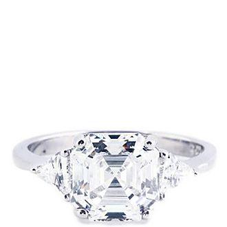 Ayla Asscher Crystal Ring