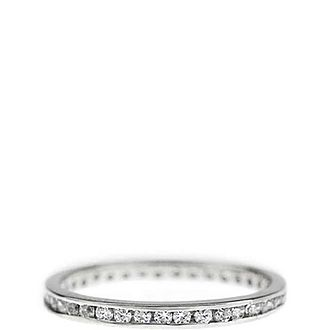 Tiny Channel Eternity Ring
