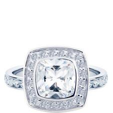 Sabrina Cushion Ring