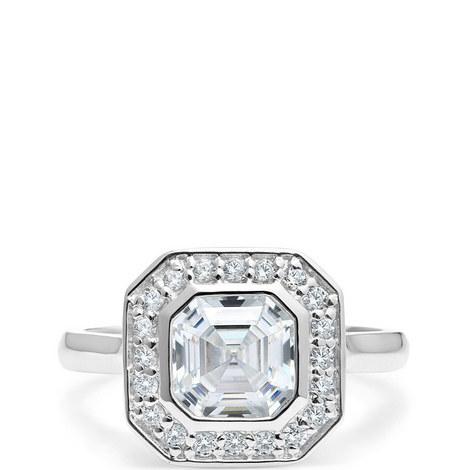 Art Deco Asscher Ring, ${color}