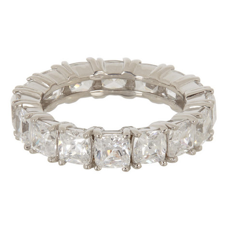 Cushion Eternity Ring, ${color}