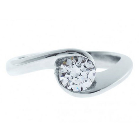 Dita Solitaire Ring, ${color}
