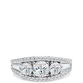 Sadia Crystal Ring