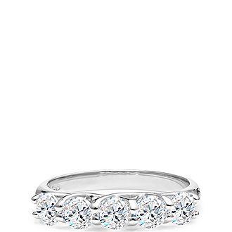 Joy Five-Stone Ring