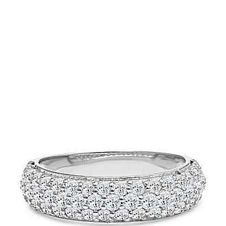 Chrissy Crystal Pavé Ring