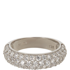 Chrissy Wide Pave Band Ring