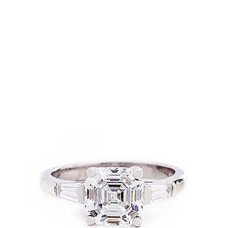 Brigitte Emerald Ring