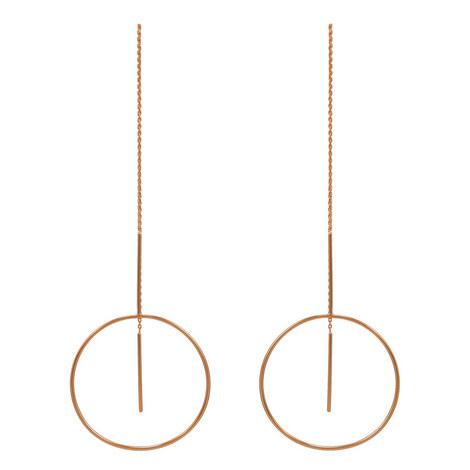 Monocle Drop Earrings, ${color}