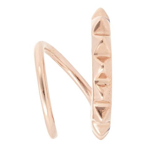 Klaxon Twirl Earring, ${color}