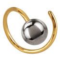 Ball Twirl Earrings, ${color}