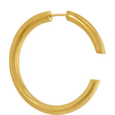 Disrupted Single Hoop Gold