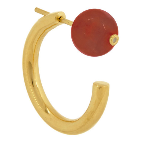 Elly Carnelian Earring, ${color}