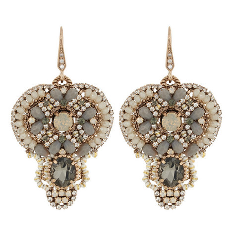 Embellished Drop Earrings, ${color}
