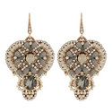 Embellished Drop Earrings, ${color}