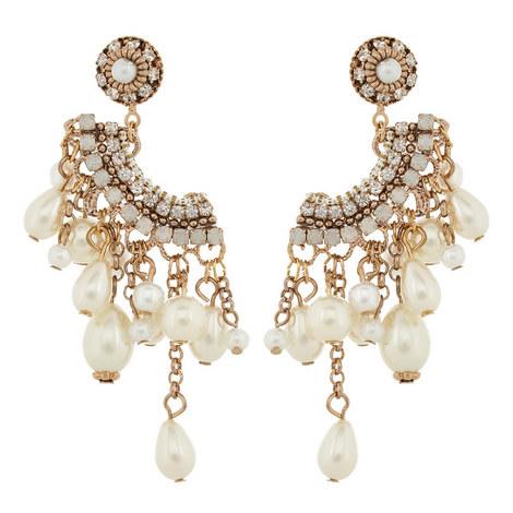 Mykonos Pearl Drop Earrings, ${color}