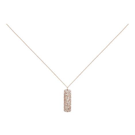 Hestia Longline Crystal Pendant, ${color}