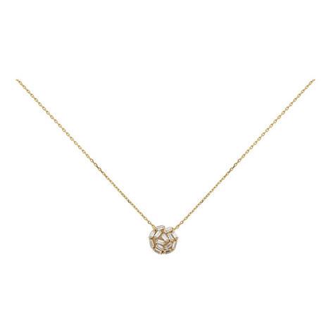 Hestia Crystal Pendant Necklace, ${color}
