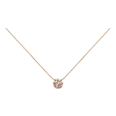 Hestia Crystal Pendant Necklace, ${color}