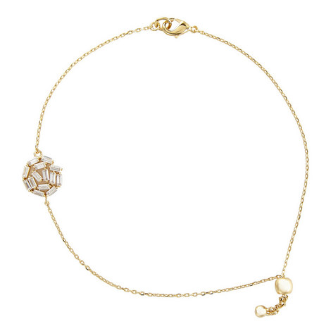 Hestia Crystal Pendant Bracelet, ${color}