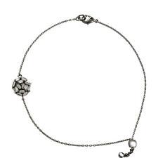 Hestia Crystal Pendant Bracelet