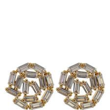 Hestia Motif Stud Earrings