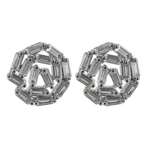 Hestia Crystal Stud Earrings, ${color}