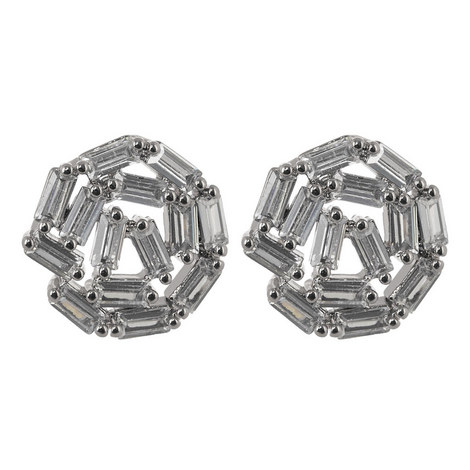 Hestia Crystal Stud Earrings, ${color}