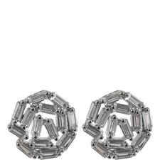 Hestia Crystal Stud Earrings