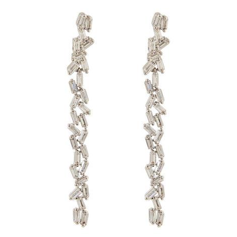 Hestia Double Row Drop Earrings, ${color}