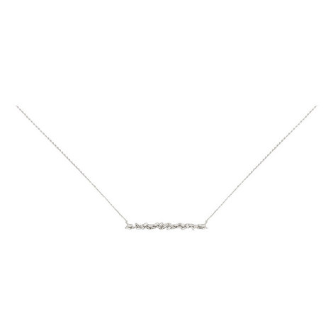 Hestia Double Row Crystal Necklace, ${color}