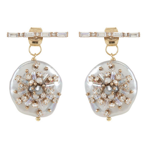 Mother-of-Pearl Bar Earrings, ${color}