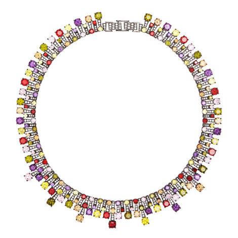 Monte Carlo Collar Necklace, ${color}