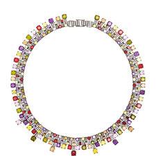 Monte Carlo Collar Necklace
