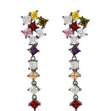 Celine Crystal Drop Earrings