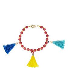 Tasselled Bead Bracelet