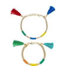 Double Tassel Bracelet