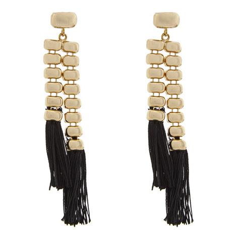 Atena Tasselled Earrings, ${color}