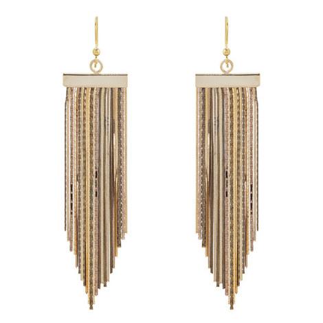 Fringe Drop Earrings, ${color}